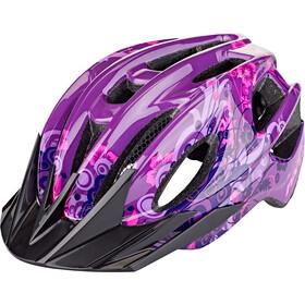 Red Cycling Products Rider Girl Casco Niñas, violeta/rosa